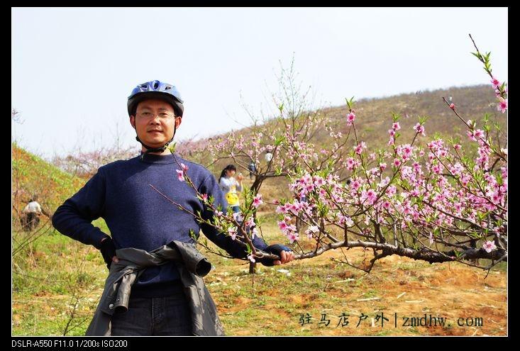 4月3日骑行桃花盛开的地方